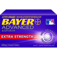 Bayer Advanced Aspirin Extra Strength, 500mg, 20 Count
