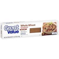 Great Value: Whole Wheat Spaghetti, 13.25 oz