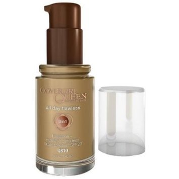 CoverGirl Queen Collection All Day Flawless Foundation, Classic Bronze