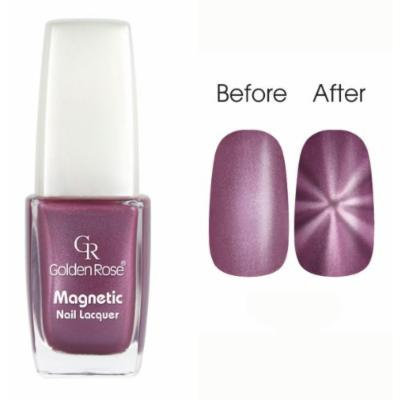 Golden Rose Magnetic Nail Lacquer - Star Effect (105 Metallic Lavender)
