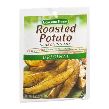 Concord Foods Roasted Potato Seasoning Mix Original