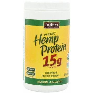 Nutiva Organic Hemp Protein, 2 Pack (16 Ounce each)