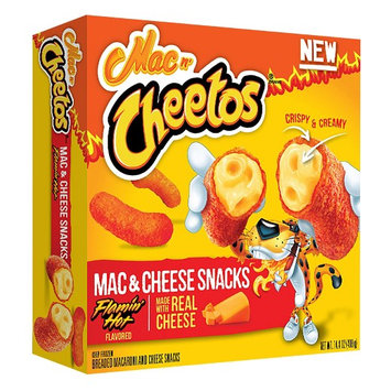 Mac n' CHEETOS® Flamin' Hot Mac & Cheese Snacks