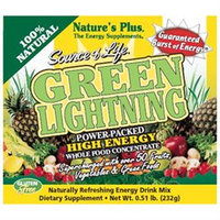Nature's Plus - Source of Life Green Lightning Energy Drink - 20 Packets