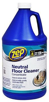 Enforcer 3220-8662 128 Oz Zep Natural Floor Cleaner Concentrate, (4 Pack)