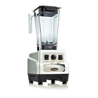 Omega BL460S 3HP On/Off Variable Speed 64 Ounce Silver