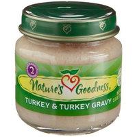 Nature's Goodness Baby Food, Turkey & Turkey Gravy, 2.5-Ounce Glass Jars (Pack of 12)