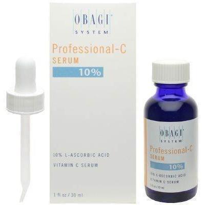 Obagi Professional-C Serum 10% L-Ascorbic Acid Vitamin C Serum Facial Treatment Products