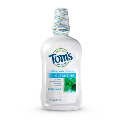 Toms Of Maine Tom's of Maine Natural Tarter Control Mouthwash, Peppermint 1 pt (473 ml)
