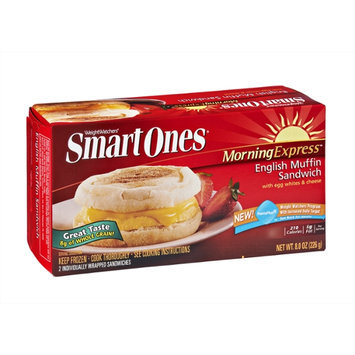 Weight Watchers Smart Ones Morning Express English Muffin Sandwich - 2 CT