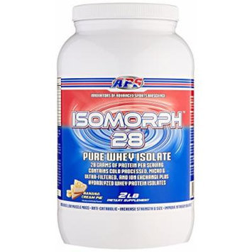 APS Nutrition IsoMorph, AAA-rated Pure/Highest Quality Whey Isolate Protein Supplement, Banana Cream Pie, 2 Pound