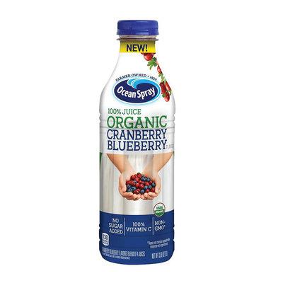 Ocean Spray® 100% Juice Organic Cranberry Blueberry