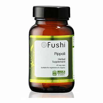 Fushi Pippali Organic Capsules, 60 Veg Caps x 500mg/cap, Biodynamic Harvested Herbs