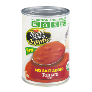 Health Valley Organic Soup Tomato No Salt Added