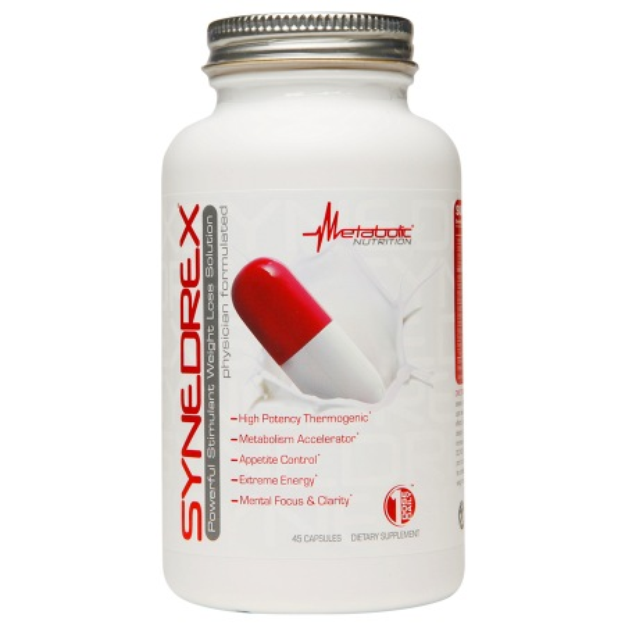 Synedrex Powerful Stimulant Weight Loss Solution, Capsules