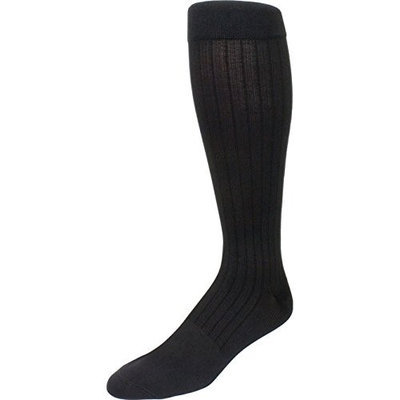 Sigvaris Business Casual 189CA12 15-20mmHg Mens Business Casual Closed Toe Socks - Charcoal Size A