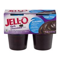 JELL-O Sugar Free Chocolate Reduced Calorie Pudding Snacks
