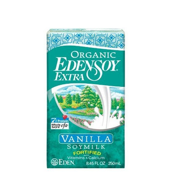 Eden Foods Organic Eden Soy Milk Extra Vanilla -- 3 Pack