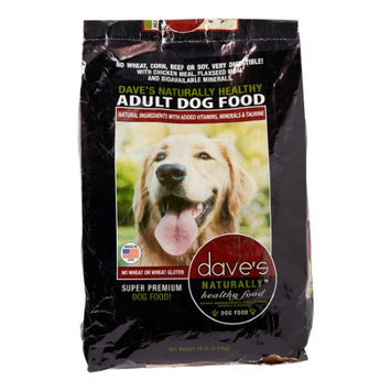Pet Food Experts Daves Naturally Healthy Adult Dry Dog Food 18lb