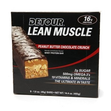 Detour Lean Muscle Whey Protein Bar