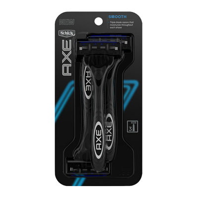 Axe Shave AXE Schick Smooth Disposable Razors 3 Count