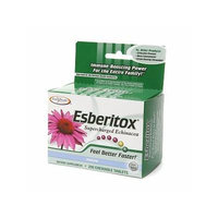 Enzymatic Therapy Esberitox Supercharged Echinacea, Chewable Tablets 200 ea