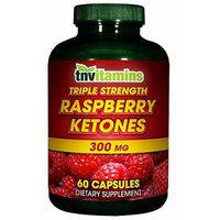 Raspberry Ketones 250 Mg With Green Tea - 60 Capsules