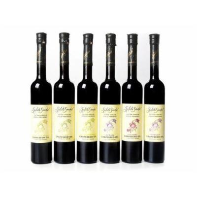 Salute Sante Extra Virgin Cold Pressed Varietal Grape Seed Oil (Varietal Merlot)