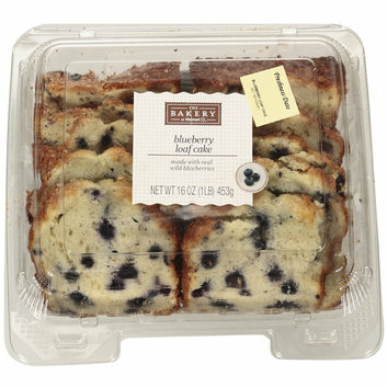 The Bakery At Walmart Blueberry Loaf Cake
