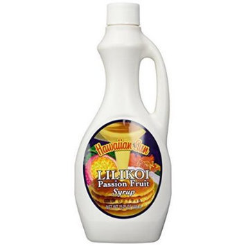 Hawaiian Sun Lilikoi Passion Fruit Syrup From Hawaii