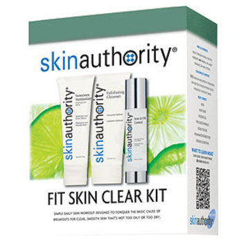 Skin Authority Fit Skin Clear Kit, includes a FREE Skin Cleansing System ($213 Value), 1 ea
