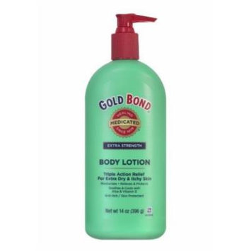 Gold Bond Extra Strength Medicated Body Lotion, 14-Ounce Bottle