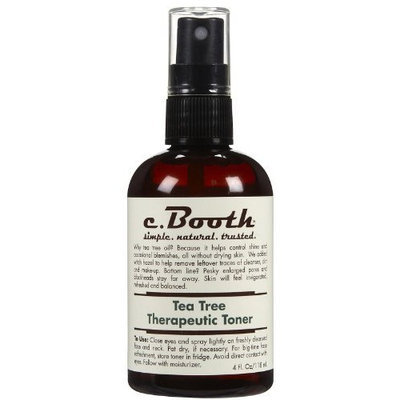 c. Booth Tea Tree Therapeutic Toner-4 oz