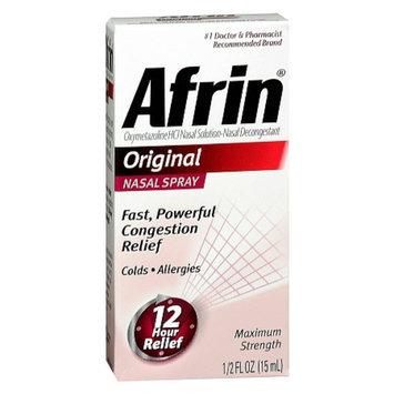 Afrin Nasal Decongestant Spray