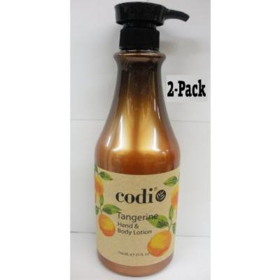 Codi Tangerine Hand & Body Lotion 25oz (2Pack)