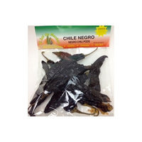 Negro Chili Pods by El Sol de Mexico 2 oz.