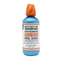 TheraBreath Fresh Breath Oral Rinse, Invigorating Icy Mint, 16 oz