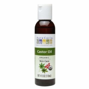 Aura Cacia Castor Oil, 4 fl oz