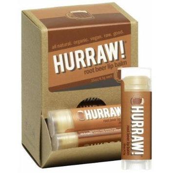 Hurraw Balm LLC - Lip Balm Root Beer - 0.15 oz.