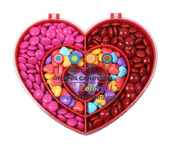 Galerie Valentine's Day Dylan's Heart Compartment Box With Candy