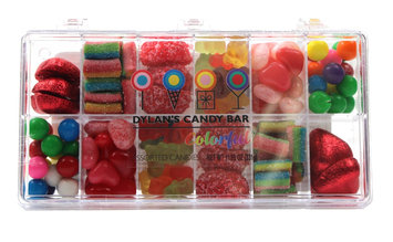 Galerie Valentine's Day Dylan's Rectangle Tackle Box with Candy