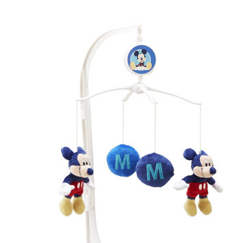 Crown Crafts Infant Products, Inc. Disney Baby Infant's Musical Mobile M Is For Mickey - CROWN CRAFTS INFANT PRODUCTS, INC.