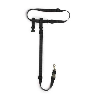 Buddy System Pet Leash The Buddy System Dog Leash - Black In Size: Extra Large