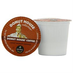Donut House Collection Light Roast Coffee, 24 ct K-Cups