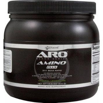 ARO-Vitacost Black Series Amino Plus - BCAA Natural Lemon Lime -- 14.6 oz (414 g)