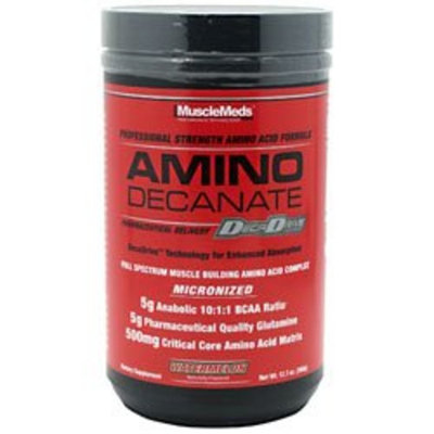 MuscleMeds Amino Decanate Watermelon -- 12.7 oz