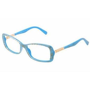 Dolce & Gabbana DG3156 Eyeglasses-2705 Azure Straw-51mm