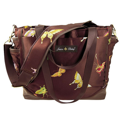 Kohls Jessica Bishop Butterfly Personal Diaper Bag (Brown)