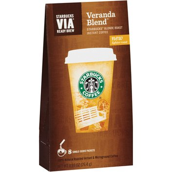 Starbucks VIA Ready Brew Blonde Veranda Blend Instant Coffee