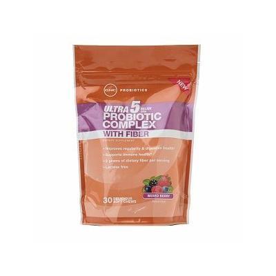 GNC Probiotics Ultra 5 Billion CFUs with Fiber, Mixed Berry 30 ea